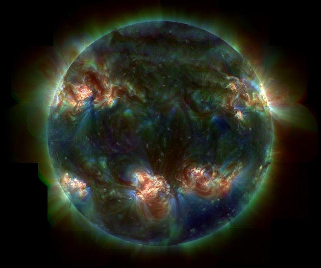Explosao Solar, Sol negro