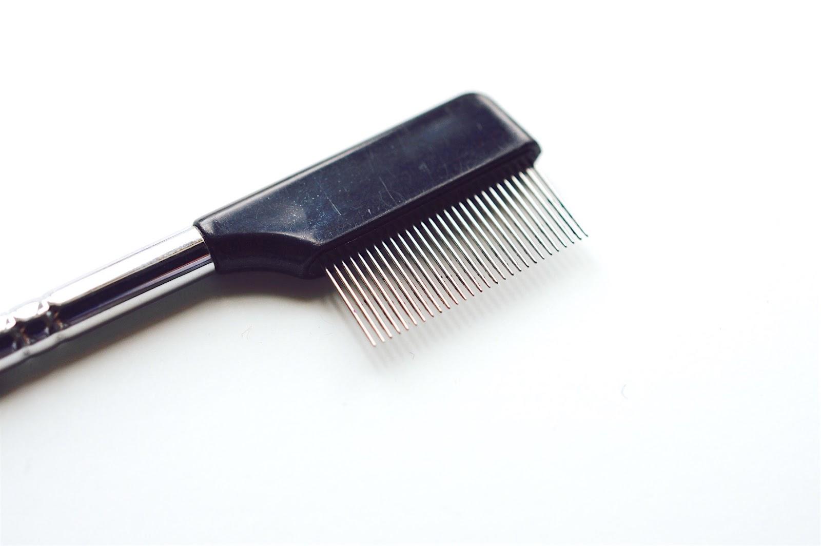 metal lash comb