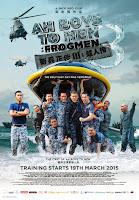 Ah Boys to Men 3 Frogmen poster malaysia