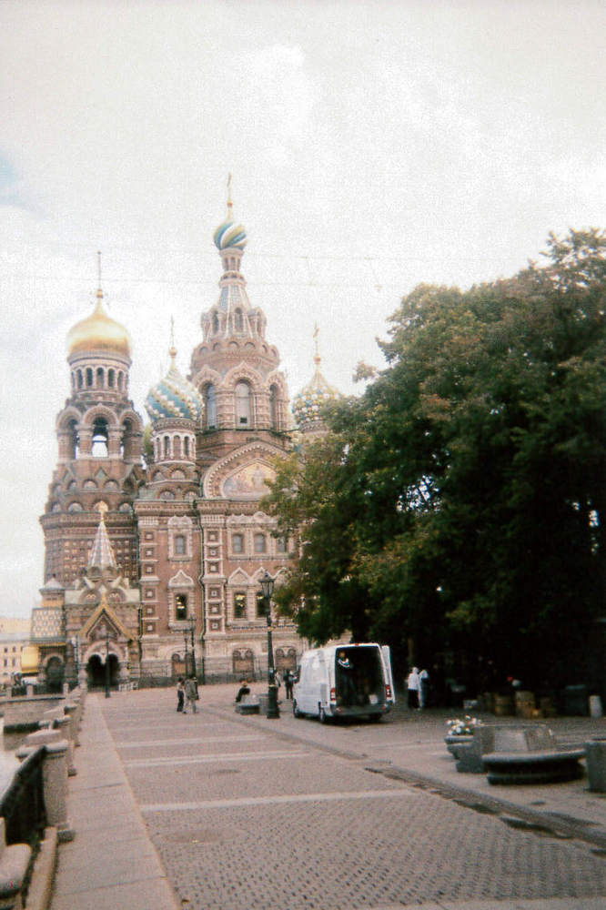 The Church of the Saviour on the Spilled Blood, St Petersburg