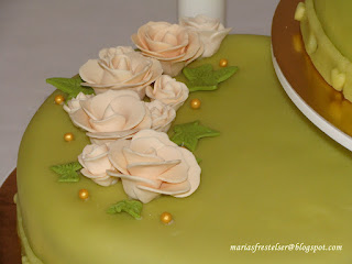Grön tårta