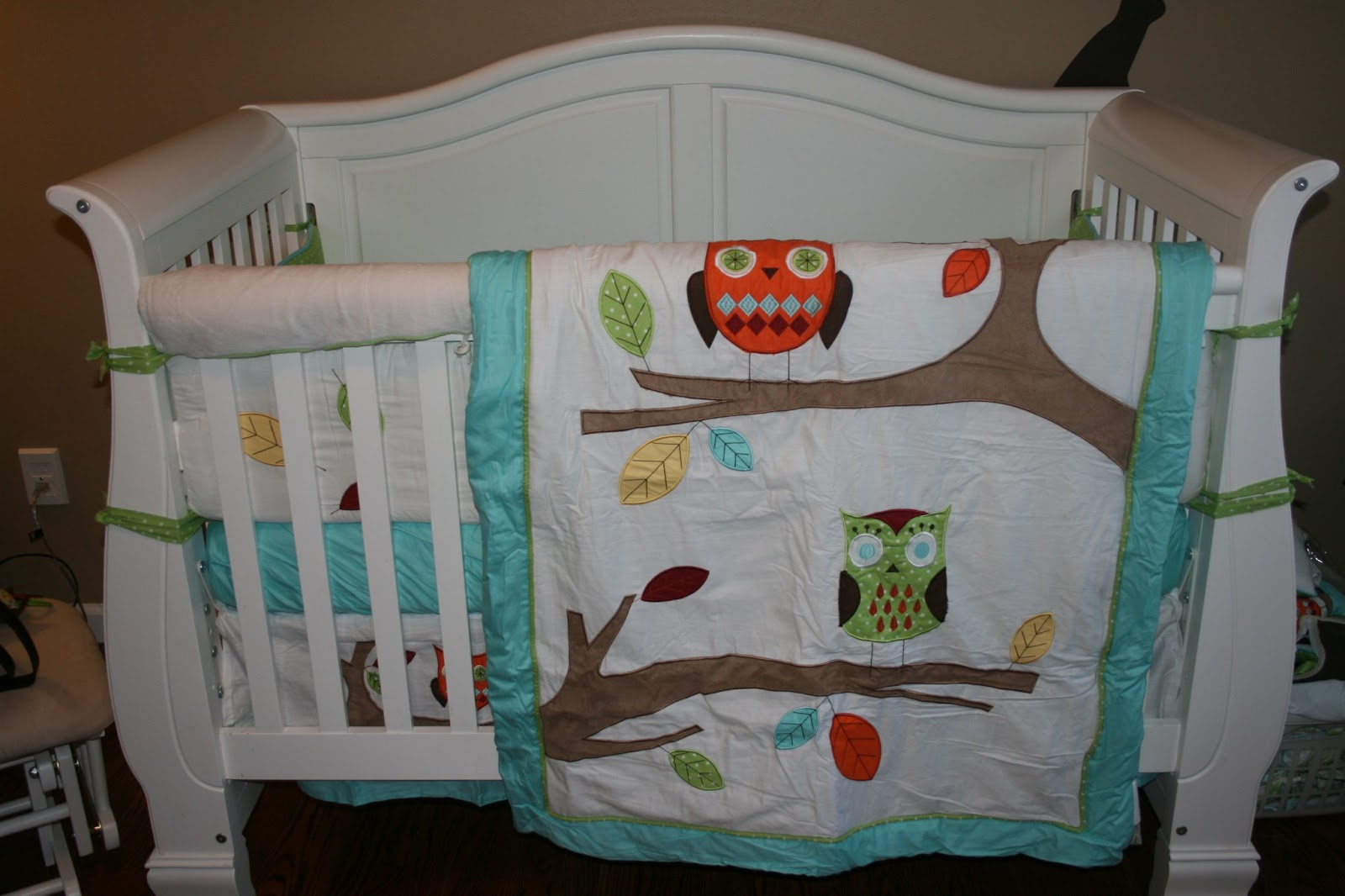 Best Crib Blanket The blanket is designed with exquisite tree branches filled with detailed appliqu and embroidery works of owls and leaves
