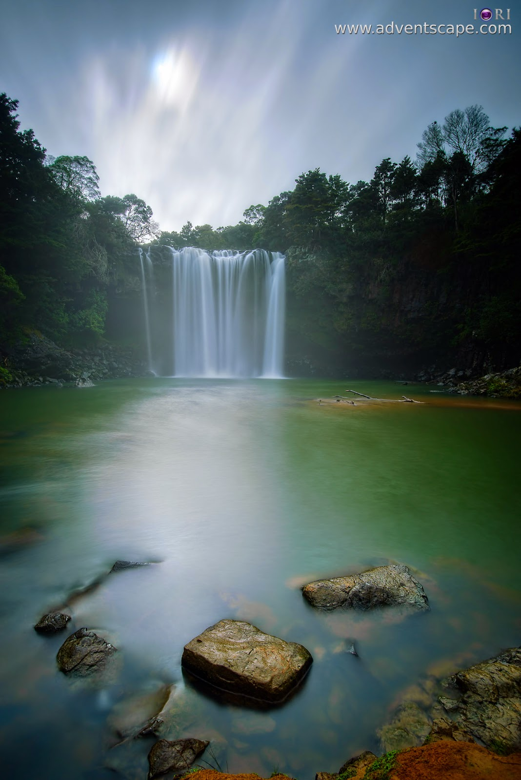 Philip Avellana, Australian Landscape Photographer, adventscape, ND, Neutral Density, filter, 0.9, Lee, solid, waterfall, Rainbow falls, NZ, New Zealand