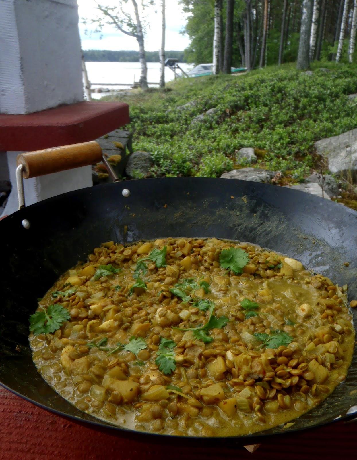 intialainen linssipata