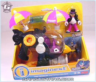 Fisher-Price Imaginext DC Super Friends penguin Copter bonus Batman アメコミ バットマン イマジネックスト