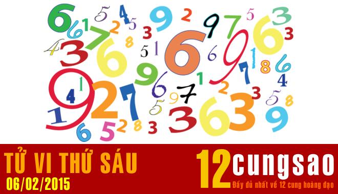 Tử vi Thứ Sáu 6/2/2015 - 11 Thần Số hàng ngày