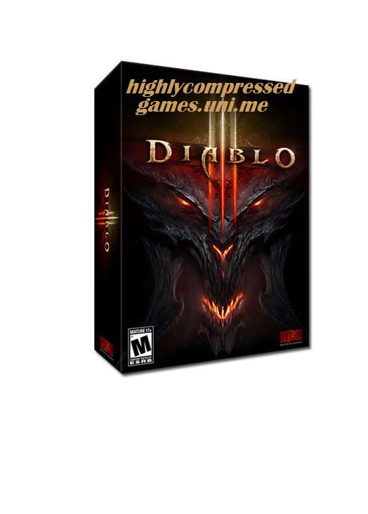 Diablo 3 offline highly compressed