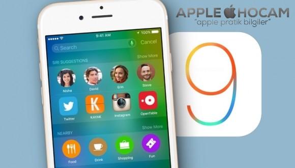iOS 9 inanılmaz kullanım oranları