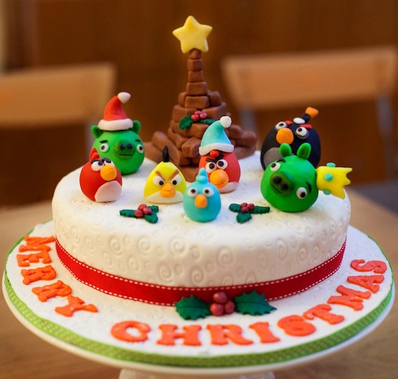 20 Best Angry Birds Birthday Cakes