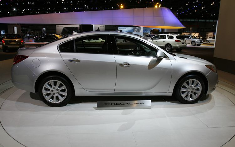The Super Cars 2012 Buick Regal Eassist Hybrid