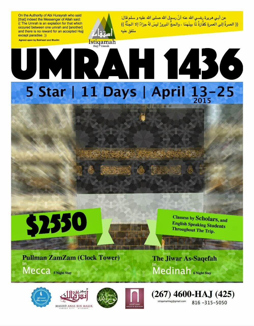 Umrah 1436