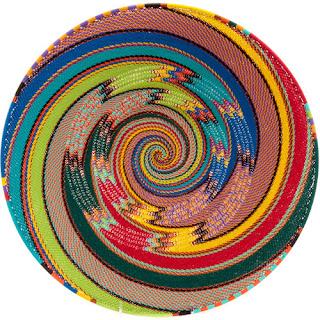 Zulu woven wire platter