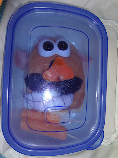 A Mr Potato Head Lunch