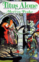 Titus Alone by Mervyn Peake book cover