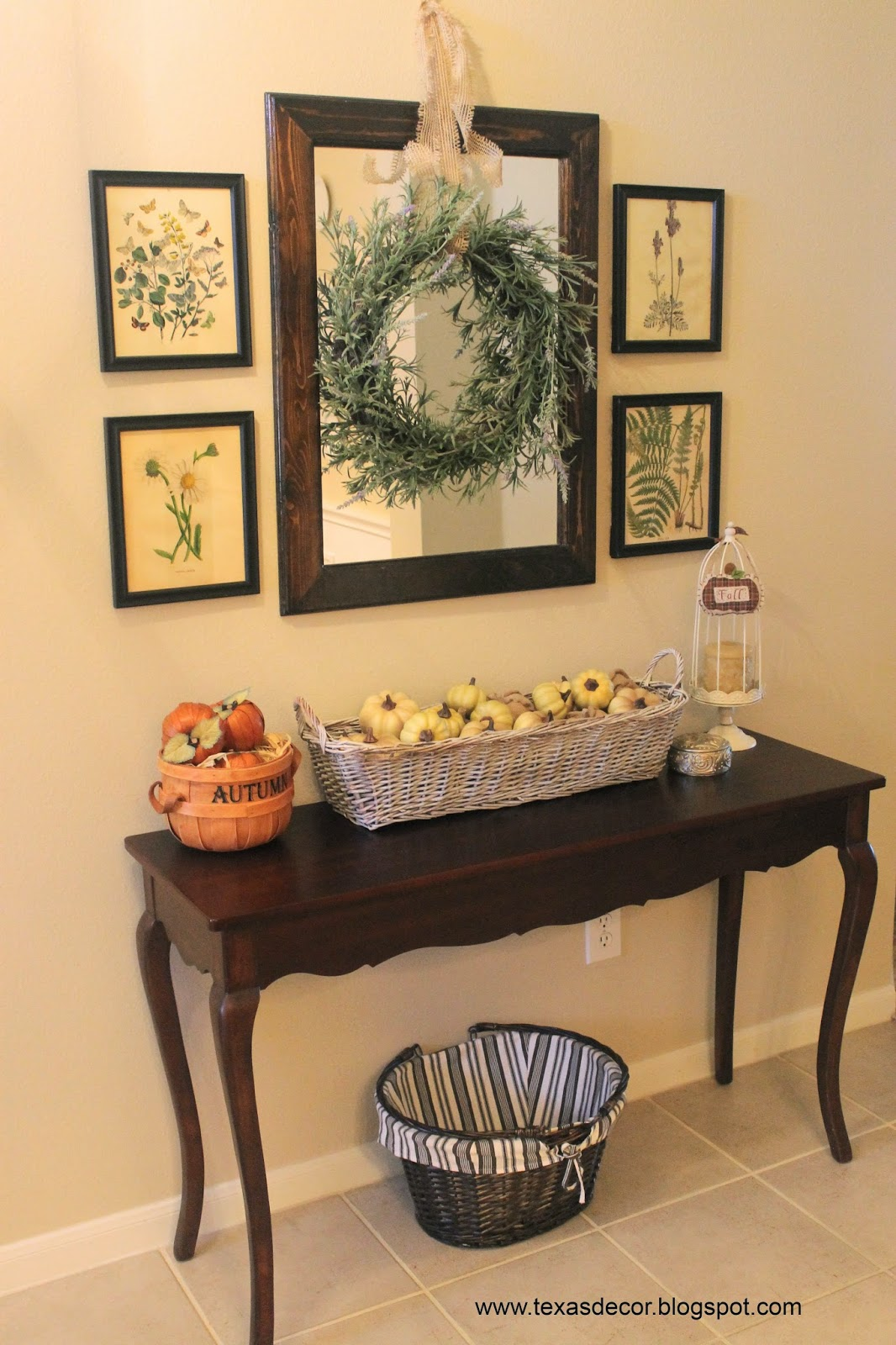 fall foyer