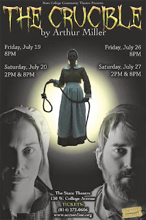 the reaction of people to mass hysteria in the crucible a play by arthur miller Buy a cheap copy of the crucible book by arthur miller a haunting examination of groupthink and mass hysteria in a rural miller's play is a powerful.
