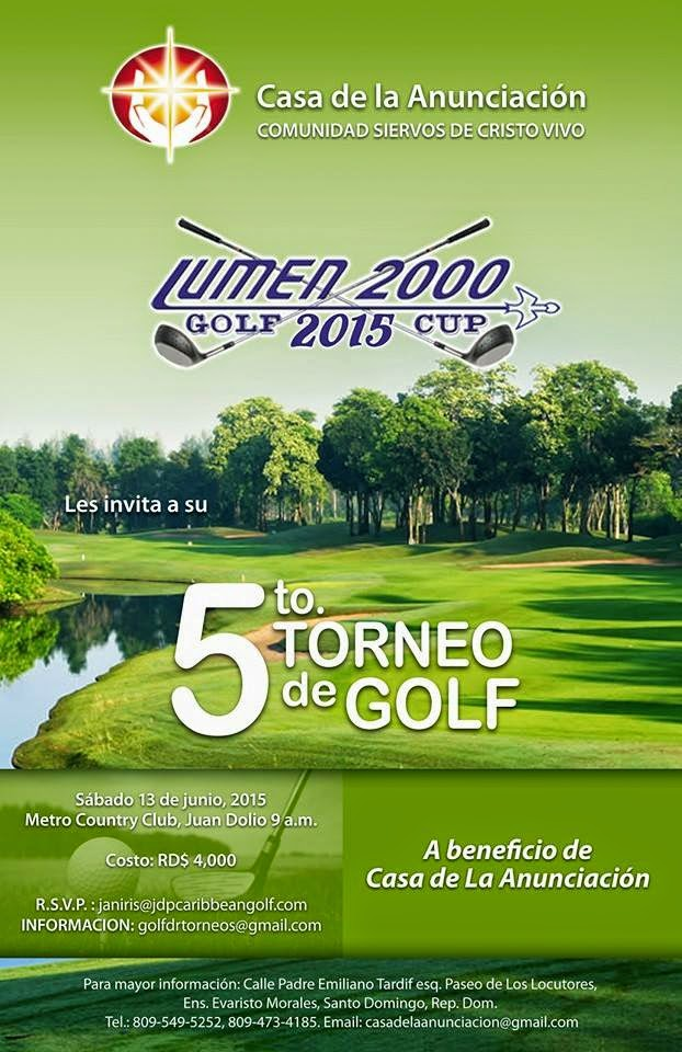 5to Torneo de Golf Lumen 2000
