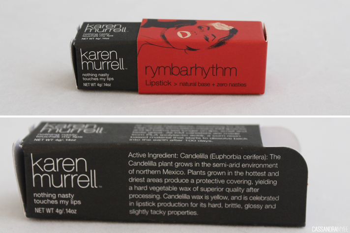 KAREN MURRELL // Lipstick in Rymba Rhythm | Review + Swatches - CassandraMyee