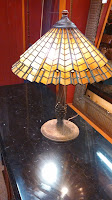 Pot metal lamp base