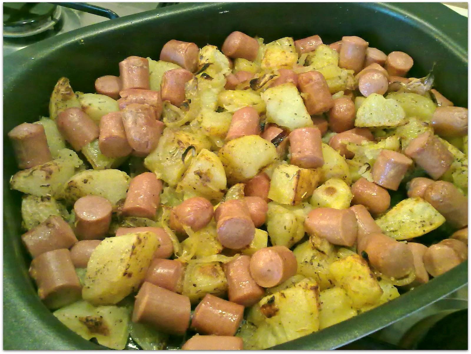 Ricette wurstel e patate al forno