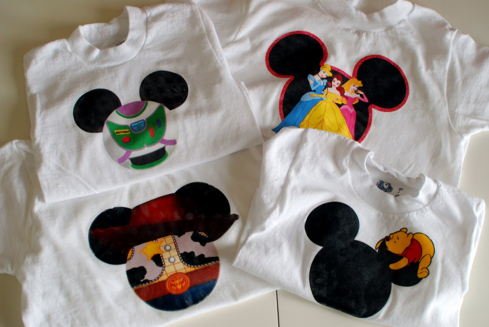 Vermillion rules diy disneyland shirts the no sew version for Where can i create my own shirt