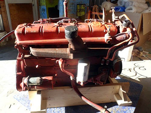 International 715 engine for sale