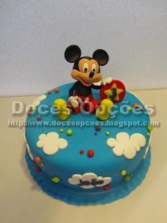 Bolo aniversário Mickey para o João