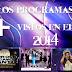 ¡ESPECIAL! Los programas + vistos en la Isla en el 2014