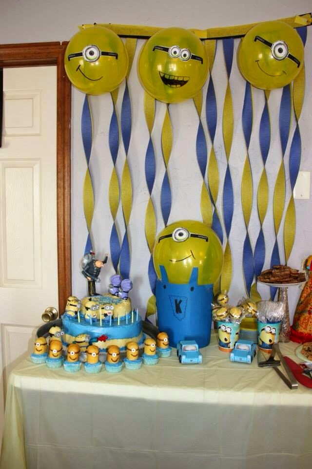 Fun 'N' Frolic: Party Theme: Minions