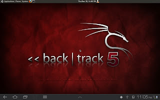 Install Backtrack on Android Tablet