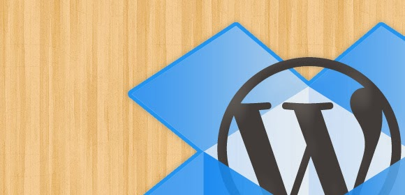 Cara Backup Blog WordPress  ke Dropbox