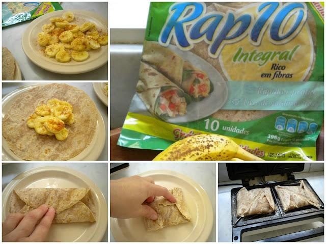 tortinha muito fácil de banana passo a passo