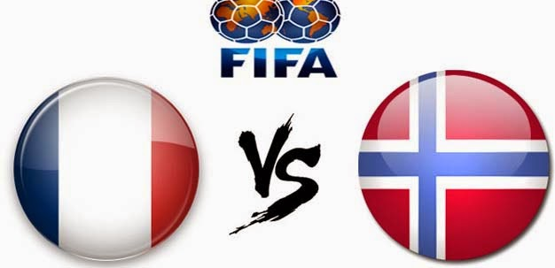 Prediksi Prancis vs Norwegia 28 Mei 2014