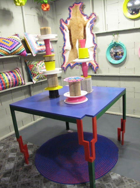 The Picnic by Keri Muller (on table) - part of the Li Edelkoort 'totenism' collection at Design Indaba 2013