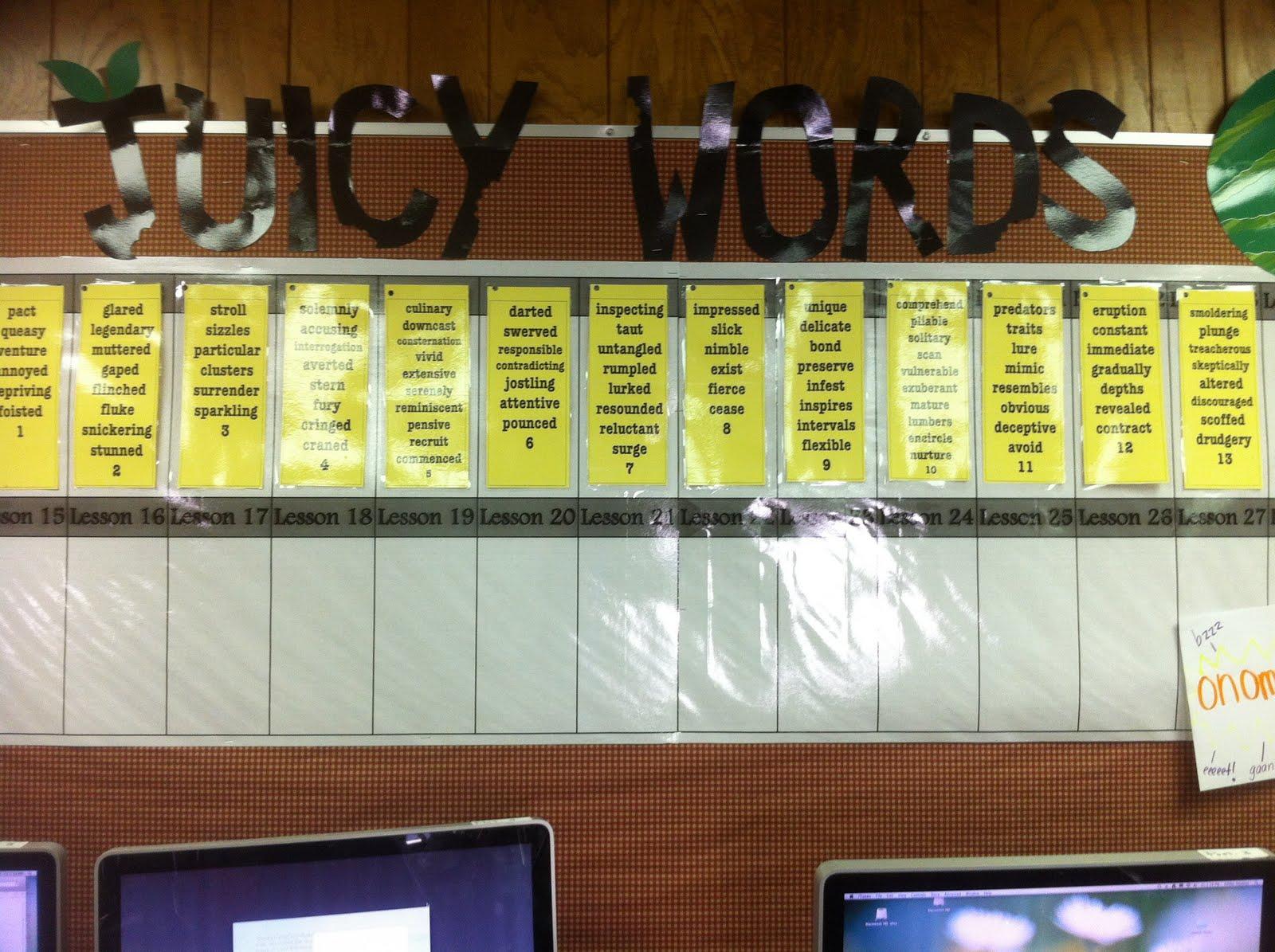 Stuff Students Say and Other Classroom Treasures: Marzano Vocabulary ...