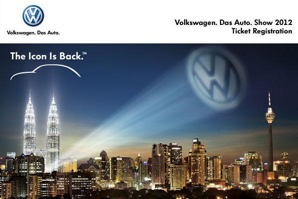 Volkswagen Das Auto Show 2012 @ KLCC