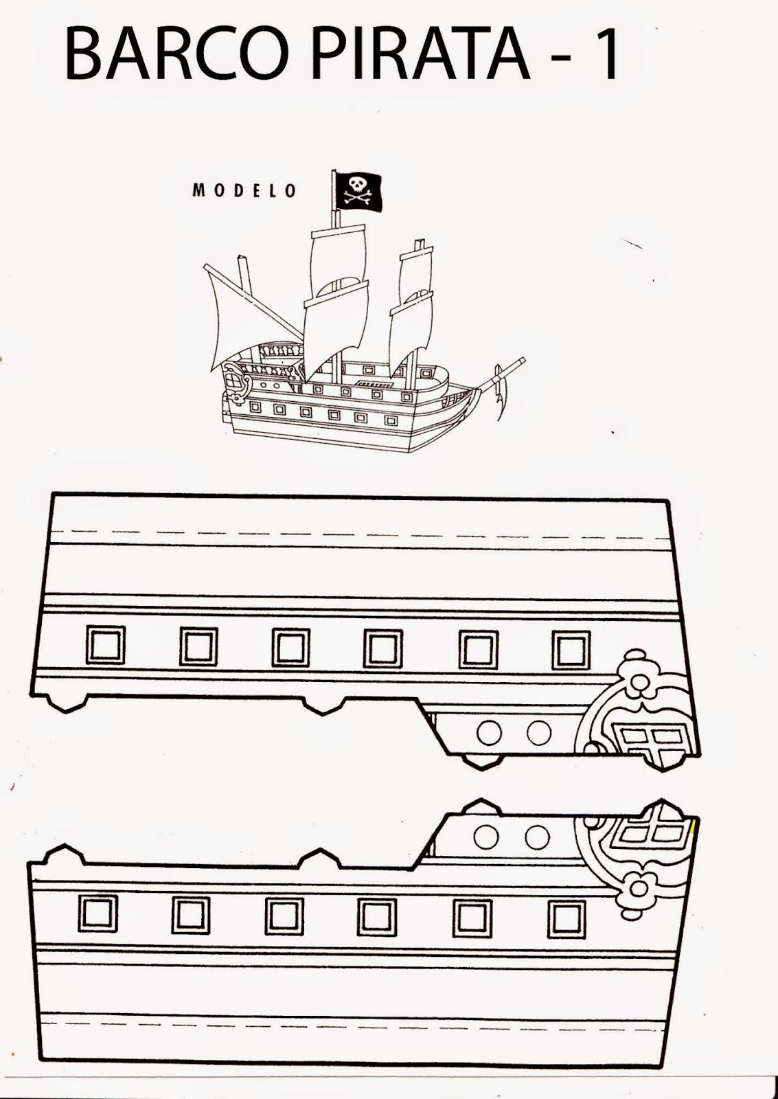 Entusiasco: Manualidades En El Hogar. Un Barco Pirata