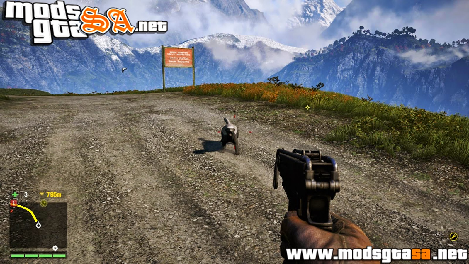 SA - HUD Estilo Far Cry 4 V1
