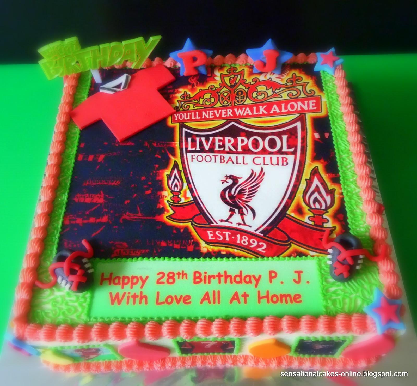 Cake Inspiration Liverpool Football Club Cake Singapore Soccer
