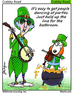 Email forwards fun maxine wishes you a happy saint for Funny irish sayings for st patrick day