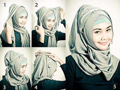 Download Video Cara Memakai Jilbab Segi Empat