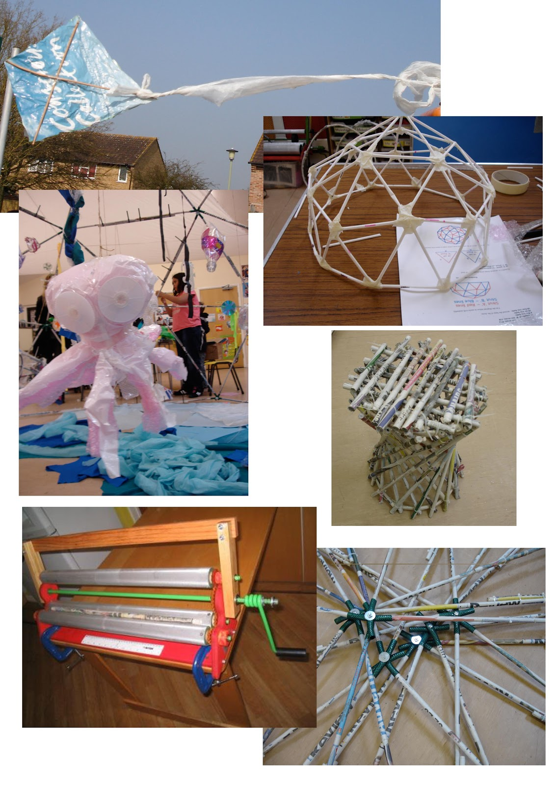 Creative workshops using recycled materials shakespeare for Creative art using waste materials