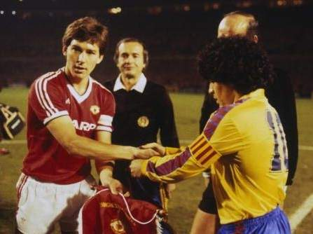 Cup Winners 1983 1984 Manchester United Barcelona