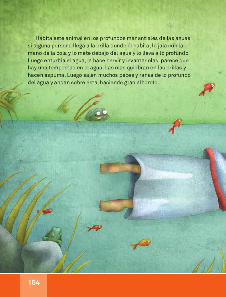 El Ahuízotl - Español Lecturas 3ro 2014-2015