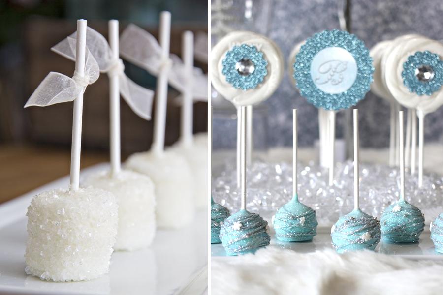 decoracao branco gelo: branco amei a ideia as argolinhas ou filipinos com chocolate branco