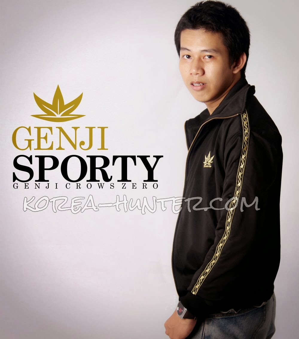 KOREA-HUNTER.com jual murah Jaket Genji Sporty Edition | kaos crows zero tfoa | kemeja national geographic | tas denim korean style blazer