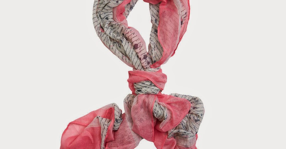 New in Package Miche Love Letter Scarf