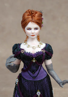 Chantelle Miniature Doll Front View