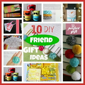 10 DIY Friend Gift Ideas