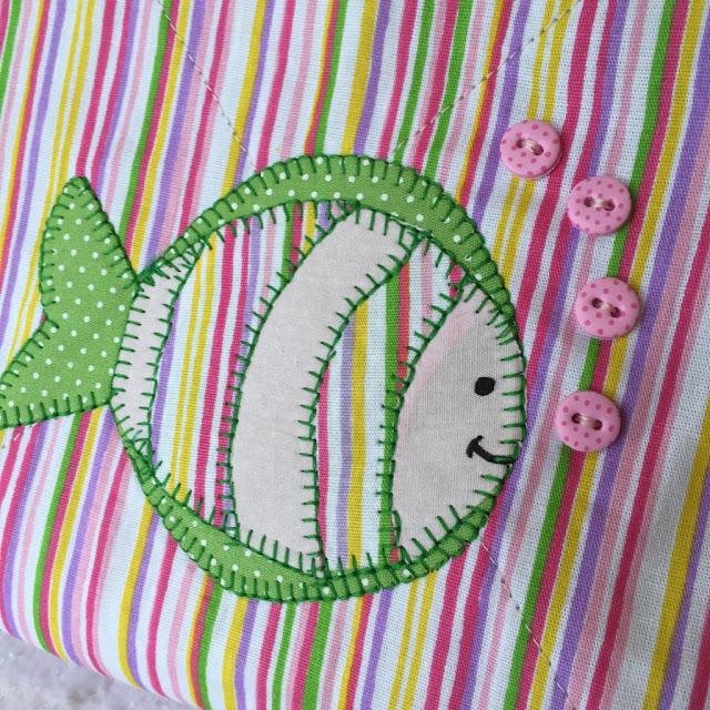 Necessaire em tecido patchwork | @ateliemadrica
